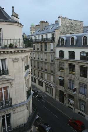 Hotel du College de France: View from balcony of Room 54