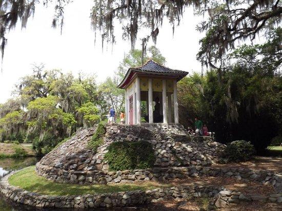 Jungle Gardens: Budda's house