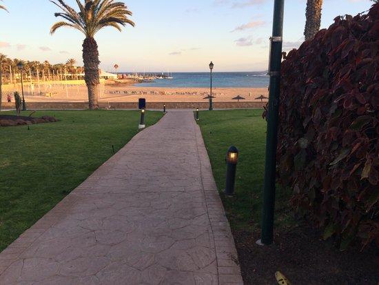Barcelo Castillo Beach Resort: From pool to beach