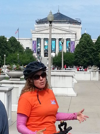 Chicago Segway Tour: Kim (our great guide)