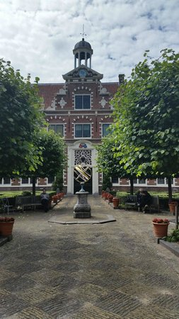 Frans Hals Museum: Central courtyard