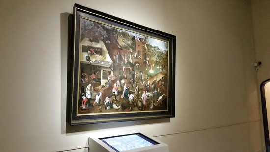 "Musée Frans Hals : Brueghel's ""Proverbs"" with an interactive explanation"