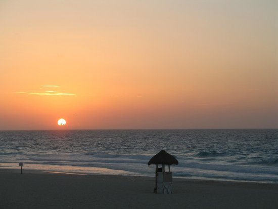 Grand Park Royal Cancun Caribe: Morning view from room