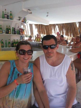 Sindbad Aqua Hotel & Spa : At the pool bar