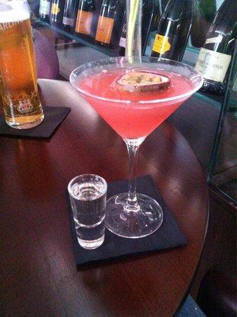 Wellington, UK: Pornstar martini