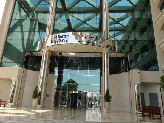 Roda Al Bustan : Hotel from the outside
