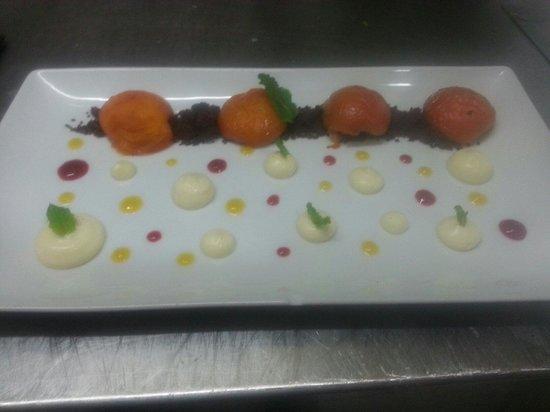 L'Arsène : Abricots rôties