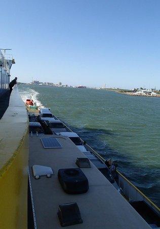 Galveston - Port Bolivar Ferry: View