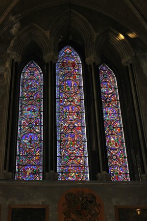Saint Patrick's Cathedral: Stained glass
