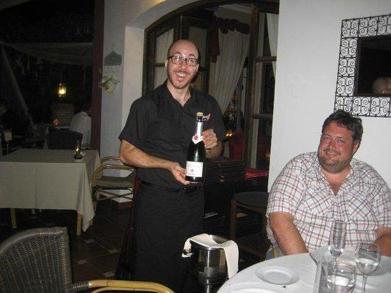 Tehuelche Grill Argentino : Hyggelig betjening