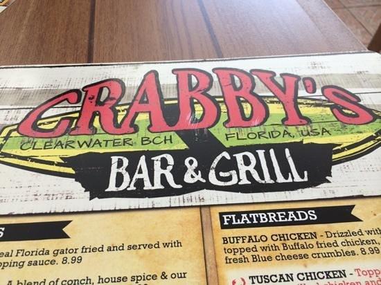 Crabby's Beachwalk Bar & Grill : good menu selections