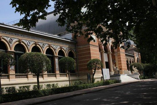 Parque del Retiro: Frontis del palacio real