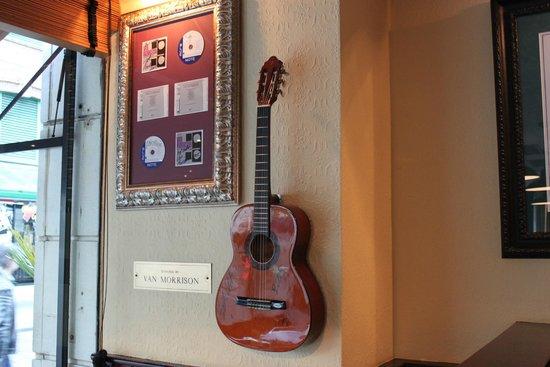 Hard Rock Cafe: Van Morrison's guitar