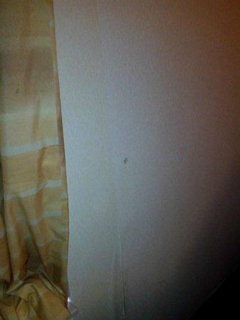 Baymont Inn & Suites Galloway Atlantic City Area: wall paper is peeling