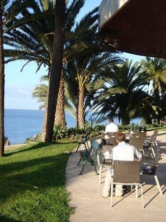 Pestana Casino Park Hotel: View at breakfast