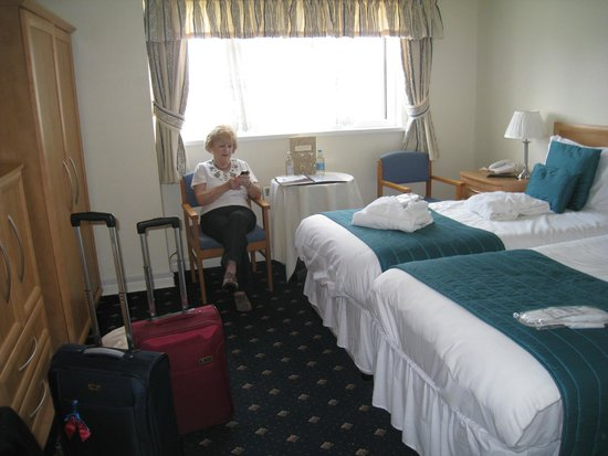 Melville Hall Hotel: Superior twin room