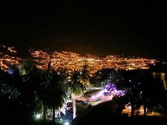 Pestana Casino Park Hotel : Night view of Funchal