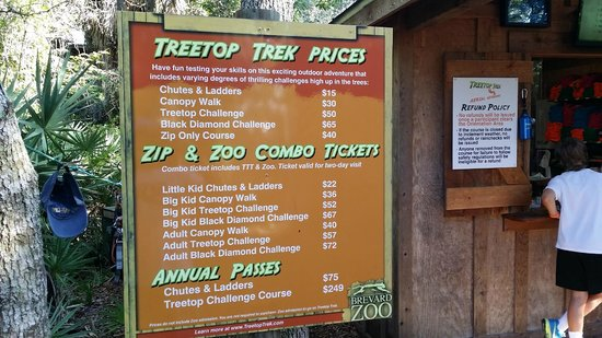 Treetop Trek Bring fat stacks of cash. Youu0027re gonna need it. & Bring fat stacks of cash. Youu0027re gonna need it. - Picture of ...