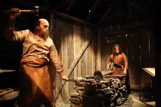 Saga Museum: Famous blacksmiths