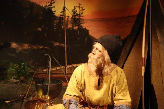 Saga Museum: First settlers