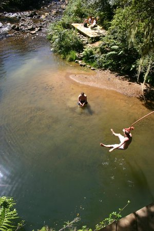 Wairua Lodge - The Hidden River Valley: Swimming hole