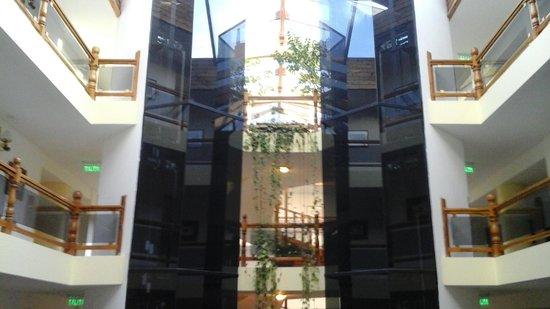 Patagonia Plaza: vista del lobby