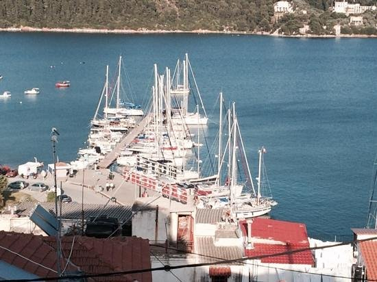 The Windmill Restaurant : Siathos harbour