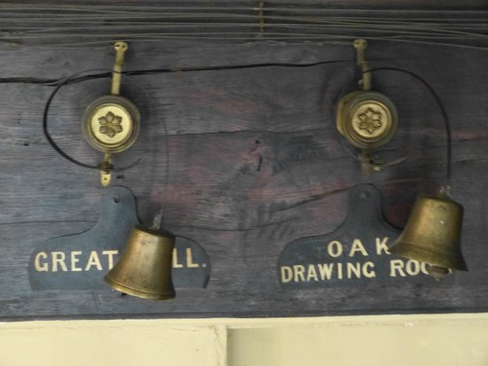 Speke Hall: Call bells for each room in the house