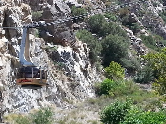 Santa Rosa & San Jacinto Mountains National Monument Visitor Center: Getting to the monument by tram