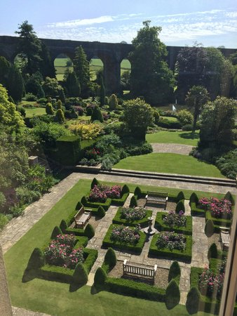 Kilver Court Gardens: View from conference suite upstairs