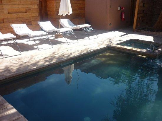 Lodge Andino Terrantai: Piscina
