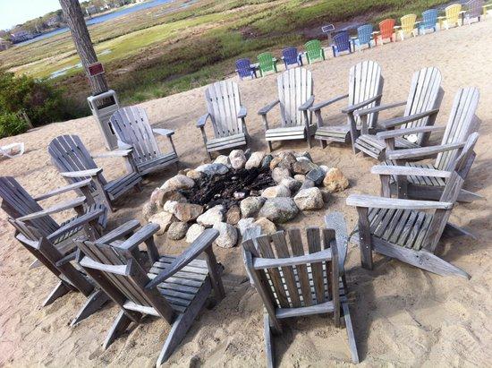 Bayside Resort Hotel: Fire pit