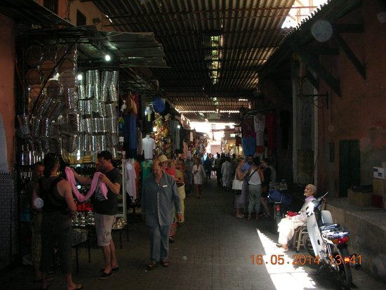 Medina von Marrakesch: Interno