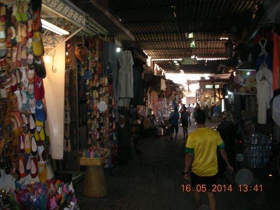 Medina von Marrakesch: Panoramica