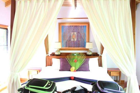Hamanasi Adventure and Dive Resort: Bedroom