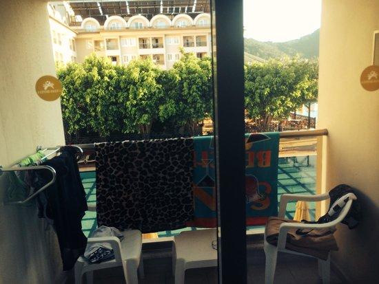 Julian Club Hotel: Room 2213 balcony