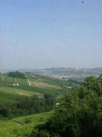 "Cascina delle Rose : view from the ""Pink Room"""