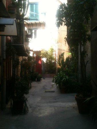 La Ciambra: via Sanchez una via del Quartiere Ciambra