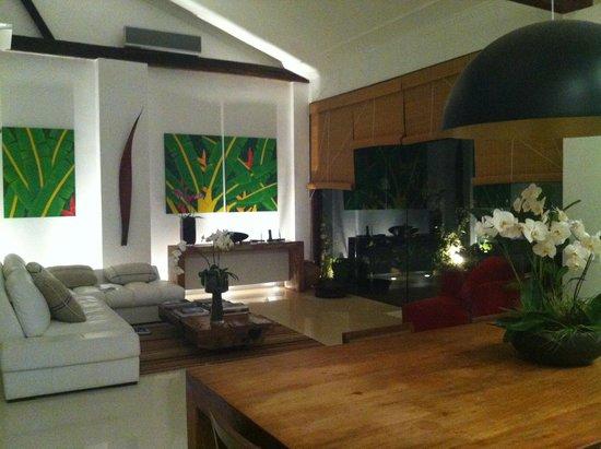 Casa Colonial Paraty: Living room