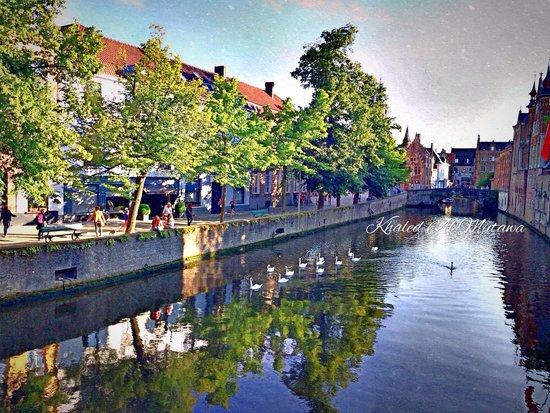 Die Swaene : Canal room view