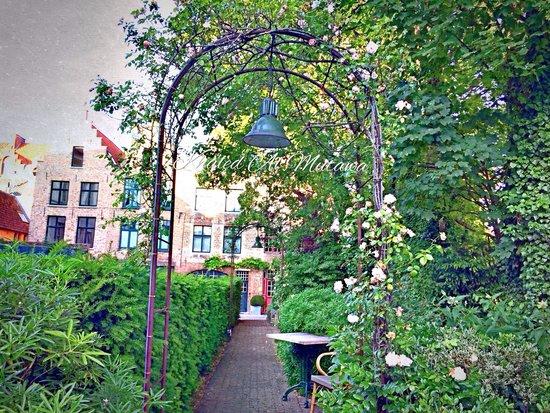 Die Swaene : Hotel garden