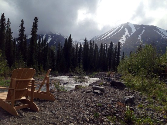 McKinley Creekside Cabins: Beautiful!  My family of 5 stayed at this quiet location.  Perfect distance to the park, river a