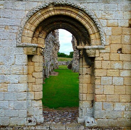 Castle Acre Priory: Within the grounds