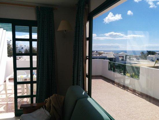 Relaxia Olivina : Room and balcony