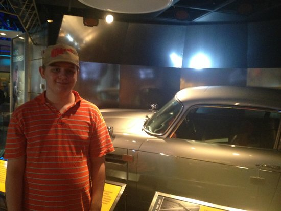 International Spy Museum: With James Bond's Aston Martin
