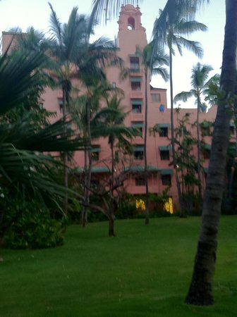 The Royal Hawaiian, a Luxury Collection Resort: Rear of hotel