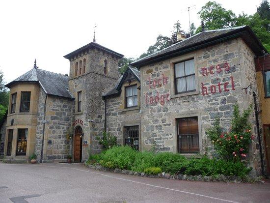 Loch Ness Lodge Hotel : Bela fachada