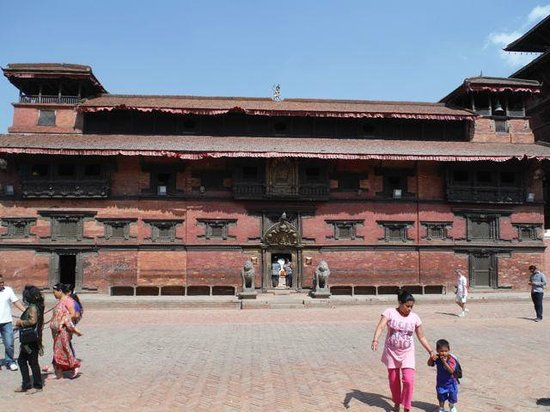 Patan Museum in former palace