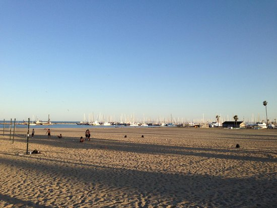 Santa Barbara Waterfront: Waterfront - em frente aohotel milo - santa barbara - California