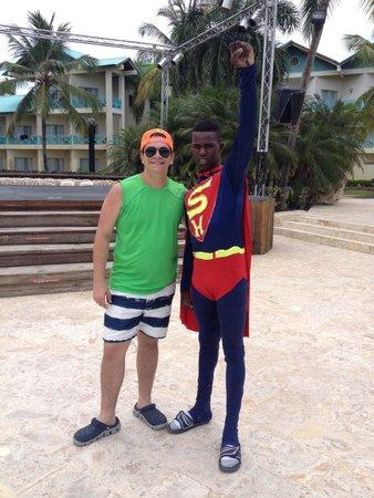Dreams La Romana Resort & Spa : Superman staff